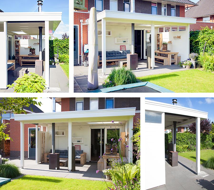 Veranda bouwen Dronten 1